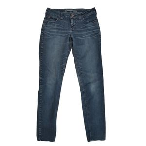 Brody Jeans Low Rise Skinny Jeans Cuff Off 26X31